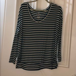 AEO soft and sexy striped shirt